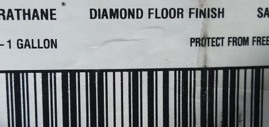 RUST- OLEUM Satin Crystal Clear Water Based Floor Finish Brand New In Box for Sale in Modesto,  CA