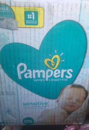 Pampers sensitive wipes for Sale in San Jose, CA
