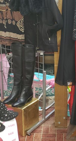 Ralph Lauren leather boots for Sale in Washington, DC