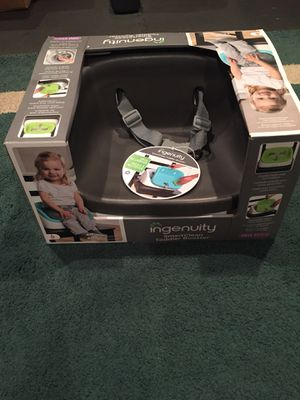 Ingenuity SmartClean Toddler Booster Seat for Sale in Centreville, VA