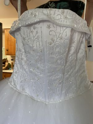 Strapless Wedding Dress for Sale in Modesto, CA