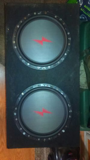 Precision Power 12in subwoofer in box for Sale in Lake Stevens, WA