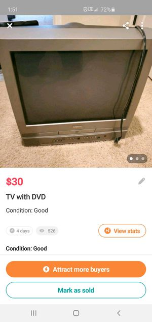 TV with DVD player for Sale in Knoxville, TN
