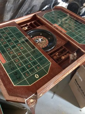 Antique Italian Inlay Game table for Sale in Swansboro, NC