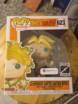 DBZ Legendary Super Saiyan Broly Exclisive 6 Inch Funko Pop for Sale in San Diego, CA