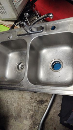 Kitchen sink with faucet for Sale in Anaheim, CA