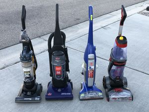 Vacuums, floor cleaner, and carpet cleaner (please read description for pricing thank you) for Sale in Albuquerque, NM
