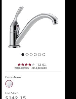 Single Handle Kitchen Faucet.. for Sale in Montclair,  CA