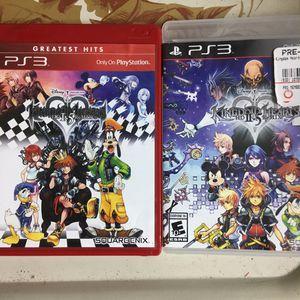 Kingdom Hearts 1 & 2 (PS3) for Sale in Fairfax, VA