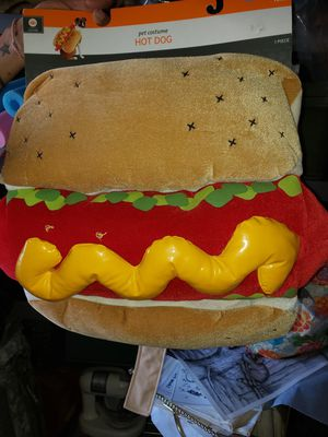 "Dog ""hotdog"" Halloween costume for Sale in Killeen, TX"