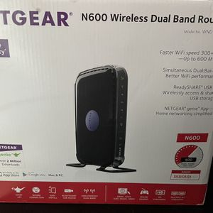 NetGear N600 Wireless Dual Band Router for Sale in Brooklyn, NY