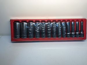 Brand new snap on 1/2 SAE deep socket set for Sale in Columbia, MD