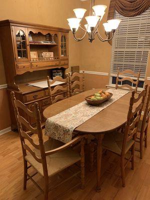 Wooden Dining Room Set for Sale in Mauldin, SC