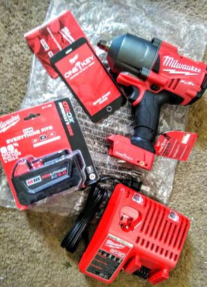 """Milwaukee New IMPACT WRENCH 1/2"""" (ONE KEY : BLUETOOTH) Model : 2863 20 (FUEL-Brushless -18M) High Torque Impact Wrench 1/2 in. Friction Ring Bare for Sale in Los Angeles, CA"""