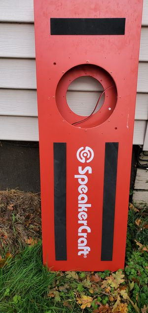 SPEAKERCRAFT 10 inch speaker box for Sale in Tacoma, WA
