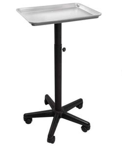 Aluminum Instrument Tray - Silver by Saloniture Furniture Mesa de salon Beauty X000T15VE1 for Sale in Medley,  FL