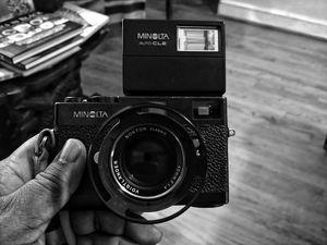 Minolta CLE Rangefinder w/ Voigtländer NOKTON Classic 40mm f1.4 & Flash for Sale in Washington, DC