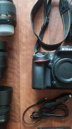 NIKON D7100 WITH 50MM, 35MM for Sale in Malden,  MA