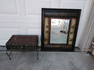 Mirror and stand for Sale in Wildomar, CA