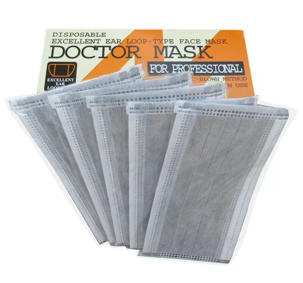 50 Disposable Face Mask Antivirus Protection Fast Shipping