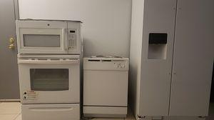 Fridge, Range, dishwasher, microwave for Sale in Miramar, FL