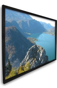 Dragonfly Screen 92 inch projector film-screen new for Sale in Scottsdale, AZ