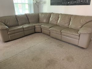 Tan sectional couch for Sale in Philadelphia, PA