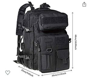 Hikingworld 40L Military Tactical Rucksack Backpack Assault Pack For Camping Trekking Hiking and Traveling for Sale in Irwindale, CA