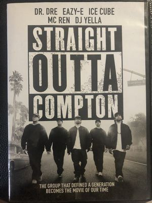 Straight outta Compton dvd for Sale in Fort Myers, FL