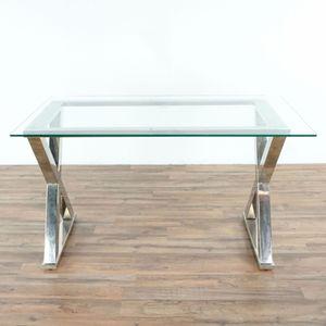 Glass Top Desk (1035472) for Sale in San Bruno, CA