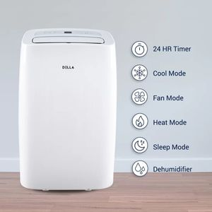 Brand new Della14,000 BTU Portable Air Conditioner with Heater and Remote for Sale in Long Beach, CA