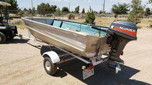 12' valco aluminum fishing boat for Sale in Phelan, CA
