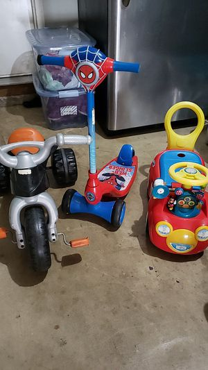 Kid toys 3 items for Sale in Plainfield, IL