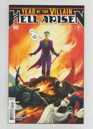 Comic book year of the villain 1st. Punchline sell or trade. for Sale in Cleveland, OH