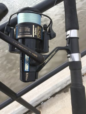 Daiwa 6.2:1 fishing spool and 9ft Penn championship rod for Sale in Richmond, VA