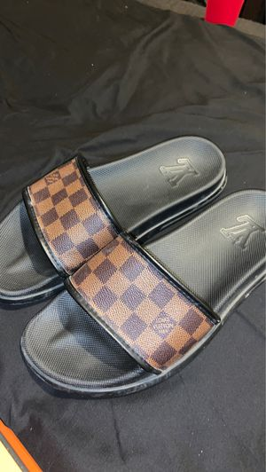 Louis Vuitton slides for Sale in Forest Hill, TX