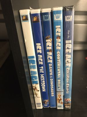Ice age dvd movie collection for Sale in Los Angeles, CA