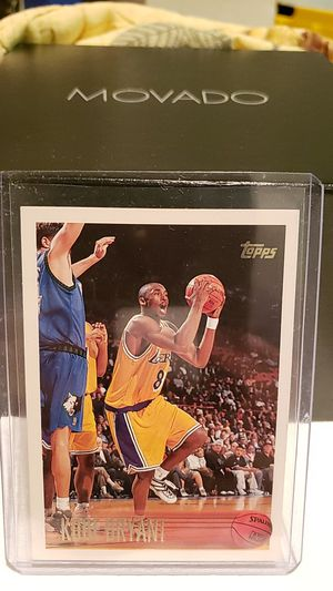 1996-97 TOPPS #138 KOBE BRYANT ROOKIE CARD RC for Sale in Baldwin Park, CA