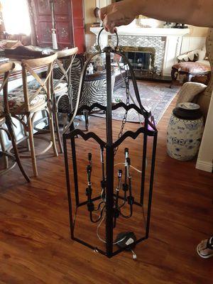Rod iron chandelier for Sale in Rialto, CA
