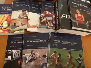 ISSA personal training text books for Sale in New Milford, CT