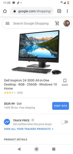 Dell inspiron all-in-one 3477 AOI series for Sale in Denver, CO