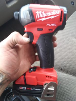 Milwaukee m18 hex hydraulic impact for Sale in Evergreen, CO