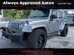 2016 Jeep Wrangler Unlimited for Sale in Tampa, FL