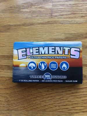 Elements Rolling Paper 300x Size 1 1/2 for Sale in Washington, DC