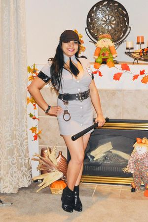 Corrections Officer Halloween Costume Size Small for Sale in Puyallup, WA