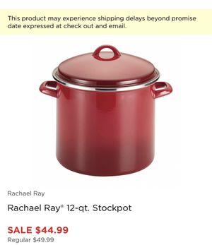 Raquel Ray 12 qt stock pot for Sale in San Diego, CA