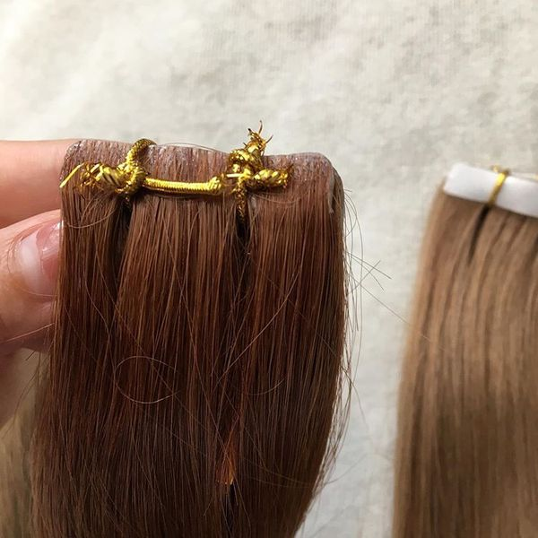 Cuticle Remy hair Euro White Women extensions , single or double Drawn