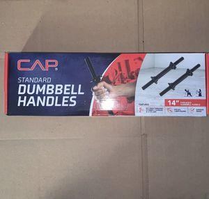 "CAP 14"" Standard Dumbbell Handles for Sale in Olney, MD"