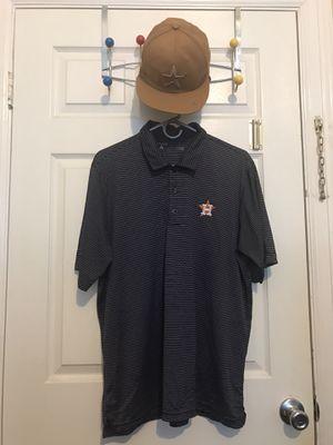 Camisa de losHastros con cachucha sise L for Sale in South Houston, TX