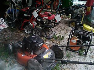 Various pressure washers and lawn equipment for Sale in Heathrow, FL